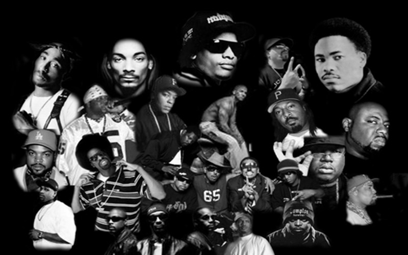 east coast vs west coast rappers list